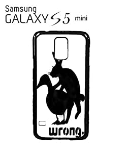 Rabbit Duck Wrong Sex Mobile Cell Phone Case Samsung Galaxy S5 Mini White