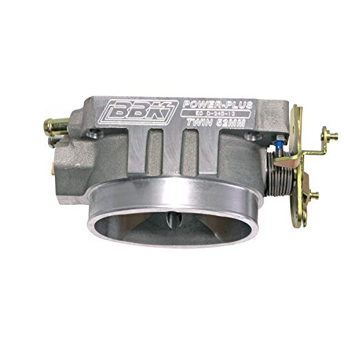 (BBK 1543 Twin 52mm Throttle Body - High Flow Power Plus Series For GM LT1 5.7L)