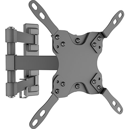 Husky Mount Tilt Swivel Articulating TV Bracket Full Motion