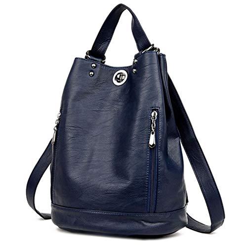 Oscuro Azul oscuro mujer Bolso hombro MANYYSI al única azul para talla 4U7PwOvq