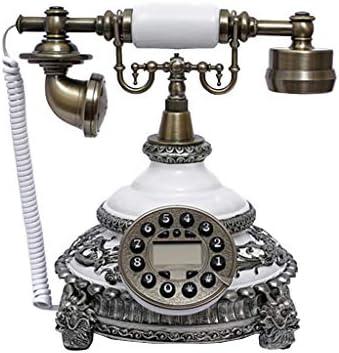 レトロな固定電話クリエイティブファッション電話家族発信者IDアンティーク固定電話