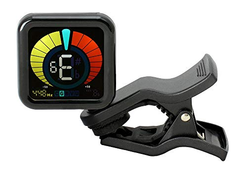 (RockJam WeTune - A Clip-On Tuner for all instruments - Guitar, Bass, Ukulele, Violin & Chromatic Tuning Modes (SPECIAL EDITION))