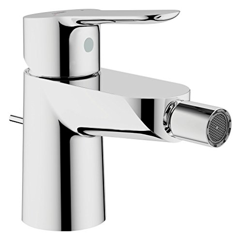GROHE 23345000 Start Edge Single-Lever Bidet Mixer with Pop-Up Waste Set