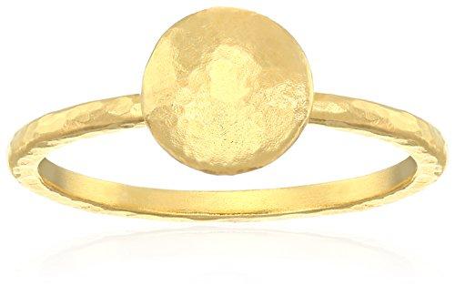 """GURHAN """"Lentil"""" 24k Gold Ring, Size 7"""