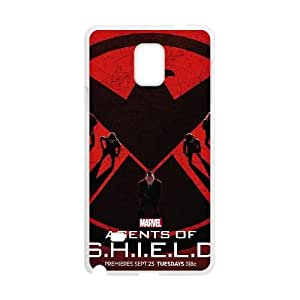 Samsung Galaxy Note4 2D PersonAgents of Shieldzed Hard Back Durable Phone Case with Agents of Shield Image