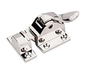 "Cabinet Latch 1 15/16"" - Polished Nickel"