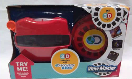 VIEW-MASTER VIEWMASTER 21 3D images DISCOVERY KIDS Dinosaurs marine safari NEW