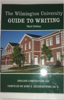The Wilmington University Guide to Writing