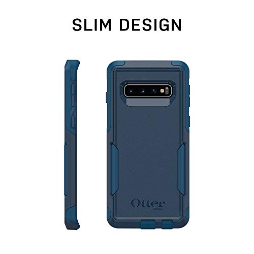 OtterBox COMMUTER SERIES Case for Galaxy S10+ - Retail Packaging - BLACK