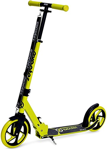 200 Scooter (EXOOTER M1475VG 5XL Teen Kick Scooter With 200mm Wheels In Vibrant Green.)
