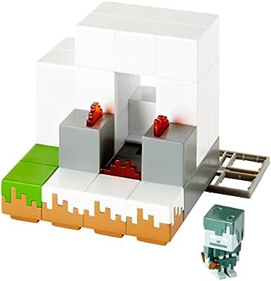 Mattel Minecraft Environment Igloo Playset Mini Figure