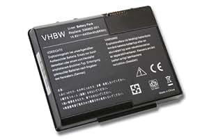 4400mAh-Batería de ION de litio, 14,8 V, para HP Compaq Presario X1000 Series X1050CA 337607-001, etc., reemplaza 336962-001, PP2082P 337607-002