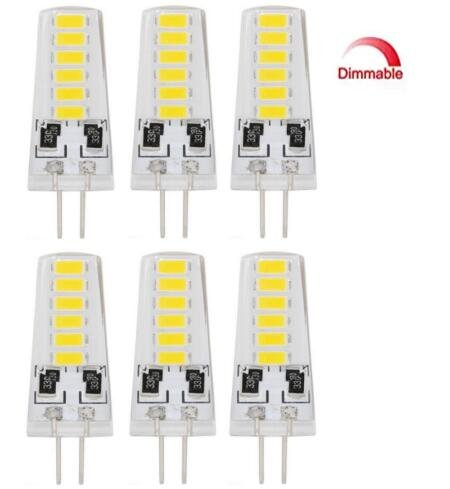 6 PACK Dimmable 5 Watt 12SMD5733 Replacement product image