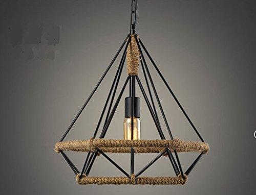 Plafoniere Led Vintage : Vintage led lampada ad incandescenza corda lampadario di