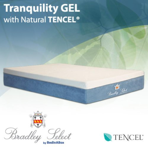 bed in a box tranquility gel w natural tencel memory
