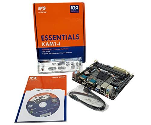 ECS KAM1-I V1.0 AMD KABINI CHIPSET AM1 Socket Dual Serial Mini-ITX Motherboard (Kabini Motherboard)