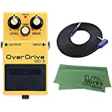 BOSS OverDrive OD-3 + 3m ギターケーブル VOX VGS-30+クロス セット