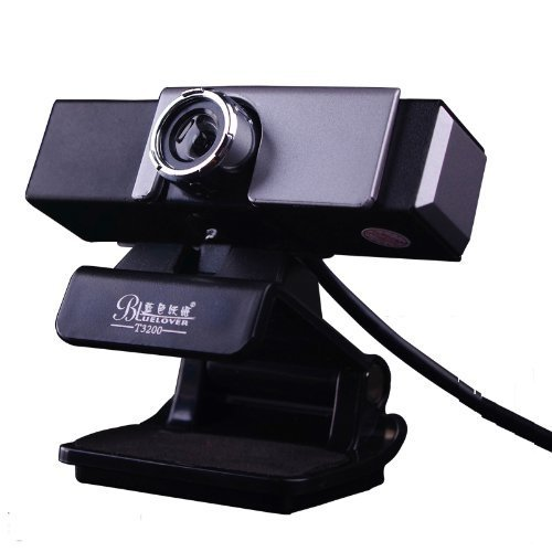 Balee Usb Webcam with Built-in Microphone