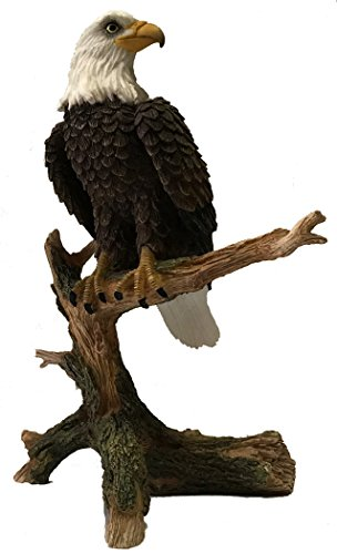 Eagle on branch Porcelain Collectible Figurine by Lefton