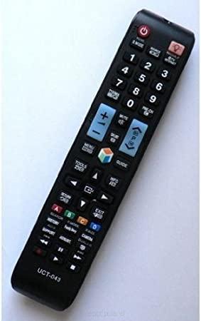 Remote UCT 043 - Universal for LCD TVs Samsung AA5900638A AA5901079A BN5901079A AA5900622A AA5900581A BN5901039A BN5901014A by BC ELECTRONICS: Amazon.es: Electrónica
