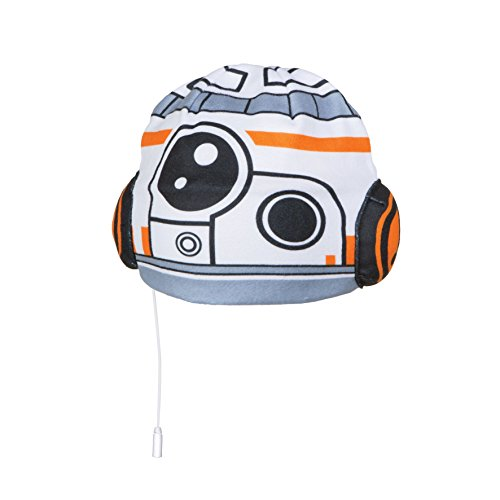 Star Wars 270SAA Child Safe Kids Headphones Hat