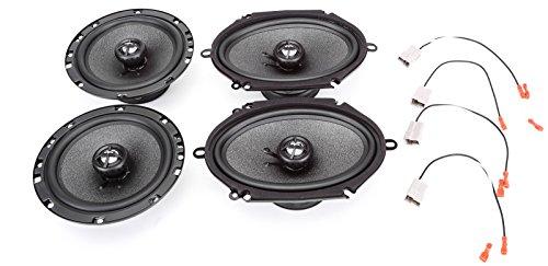 Skar Audio Complete RPX Series Speaker Upgrade Package - Fits 1997-2002 Ford Escort / ZX2 ()