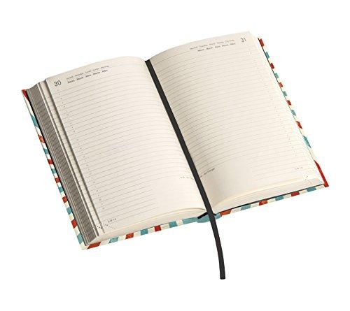 Legami - Agenda diaria 16 meses, tamaño Medio, diseño ...
