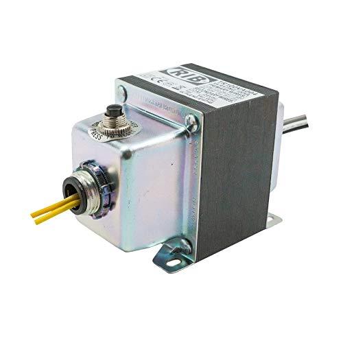 Functional Devices TR100VA004 Transformer, 100Va, 480/277/240/120 to 24 Vac, Circuit Breaker, Foot and Dual Threaded Hub Mount