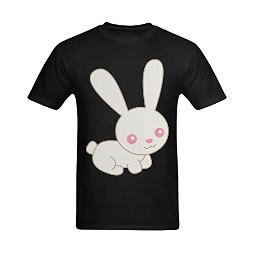 - Fashion-In Men's Easter Bunny Free Easter Rabbit Clipart Design T-Shirt - Cool Tshirt US Size 2XL