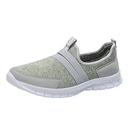 (MILIMIEYIK Flats Shoes Women, Sport Men's Cutback Lace-Up Sneaker Fashion Mesh Soft Round Head Bottom Set Foot Sports Shoes Mint)