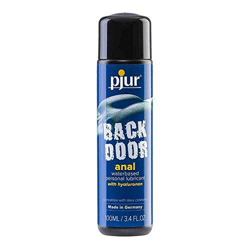 Pjur Back Door Comfort Water Anal Glide Lubricant 3.4 Fl Oz