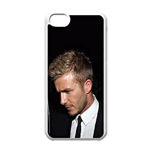 iPhone 5c Cell Phone Case White Beckham Beauty Sports Face Eqoty