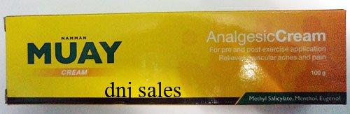 5x Muay Thai Boxing Cream Analgesic Balm Liniment 100g From Thailand