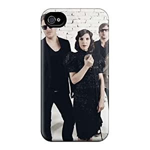 Shock Absorption Hard Phone Case For Iphone 4/4s (UwE16115oLSq) Custom Fashion Three Days Grace Series