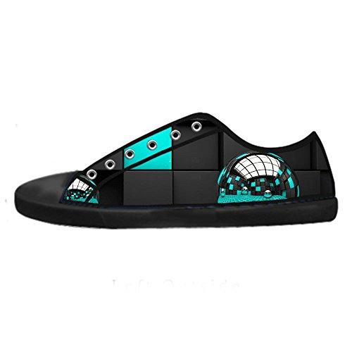 Women's Scarpe Shoes Scarpe Tetto Stampa Custom Lacci 3D Alto da stereoscopica delle Canvas Ginnastica Scarpe I qXtPnzxwpg