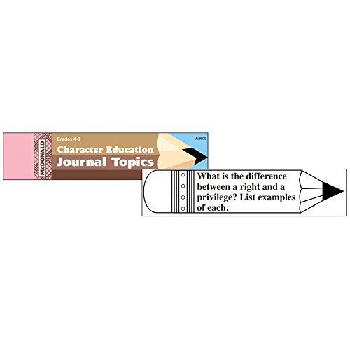 - McDonald Publishing MC-J809 Character Education Journal Booklet, 0.3