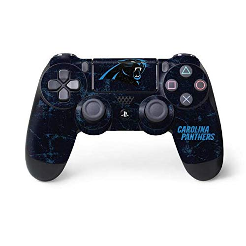 (NFL Carolina Panthers Distressed Skin for Sony PlayStation 4/ PS4 Dual Shock4 Controller)