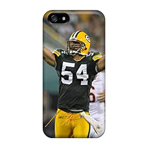 Premium Protection Green Bay Packers Case Cover For Iphone 5/5s- Retail Packaging