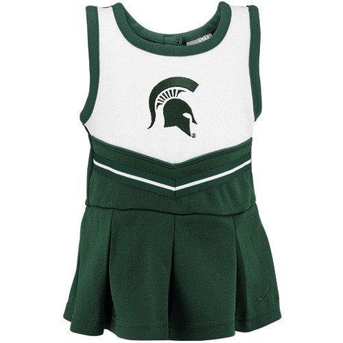 UPC 617844190691, Michigan State Nike Cheerleader Dress with Bloomers - 18 Months