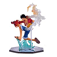 Hongsawat.jawan5612 Luffy Straw Hat Anime Action One Piece King Doll Model Monkey D. Luffy Fight Rubber Fruit Straw Hat Pirates Accessories World