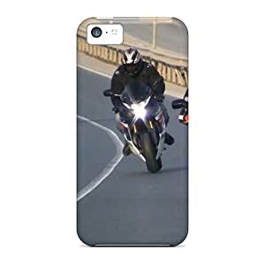 Anti-Scratch Hard Cell-phone Cases For Iphone 5c With Customized HD Hayabusa Series AaronBlanchette