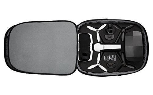 Parrot PF070233 Carrying Protective Parrot Bebop 2 FPV, Backpack, Black