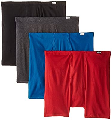 Hanes Men's 4-Pack Comfortsoft Extended Sizes Boxer Briefs