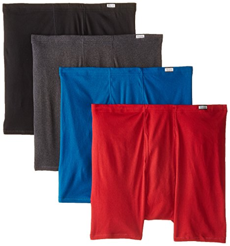 Waistband Brief Underwear (Hanes Men's 4-Pack FreshIQ Comfortsoft Extended Sizes Boxer Briefs, Assorted, 3X-Large)