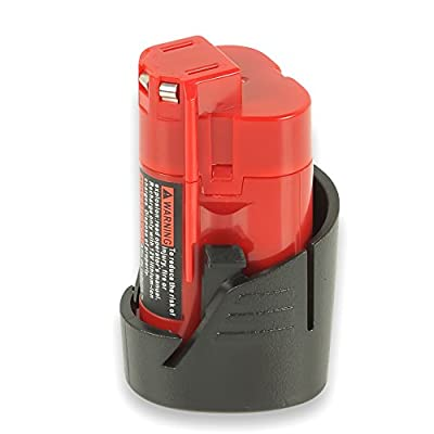 Milwaukee M12 12V Volt Red Lithium 2.0AH Replacement Battery 48-59-1812 2510-20 48-59-2401 M18 Multivoltage Power Cordless Tools