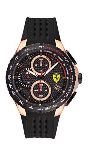 Scuderia Ferrari Pista Analog Black Dial Men's Watch 0830728