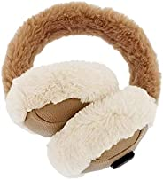 Aroma Season Heated Ear Warmer for Winter, Electric Ear Muff Soft & Warm, Ear Covers for Cold Wea
