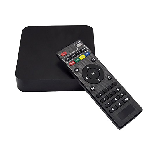 TV BOX Android 4.4 WIFI Streaming Smart Media Player Amlogic S805 with 1G/8GB TV Box Quad-core HD 1080P Black