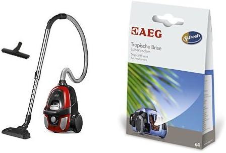 Pack AEG LX5 Compact Aspiradora sin bolsa compacta con cepillo ...