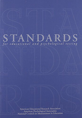 Standards For Educational+Psych.Testing